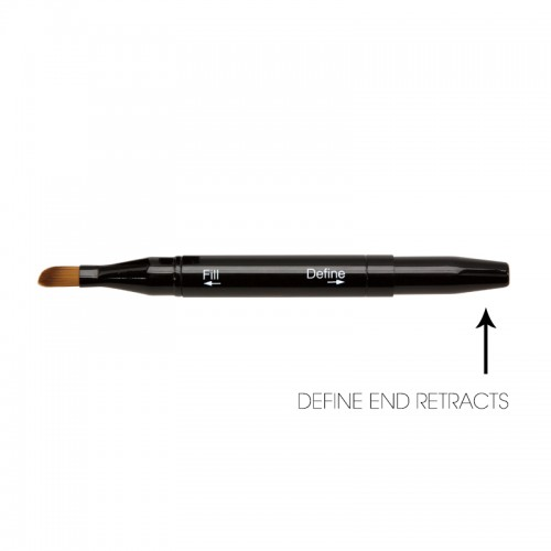 Double Ended Lip Brush - Retractable Lip Brush